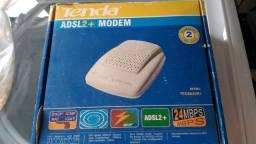ADSL 2 + Modem Tenda