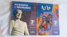 Livros ENEM 3° Ano SAS Filosofia/ Sociologia e Artes