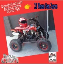 Japa Mini Motos Quadriciclo 90cc/4t