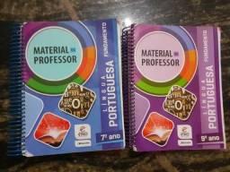 2 Livros Material Do Professor Língua Portuguesa
