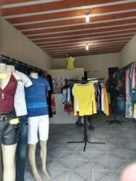 Fundo de loja de roupas
