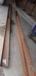 Vendo essas duas peças perfil I tipo H 0.15cmx0.10cmx12mts