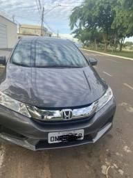 Honda City 15/15 LX automático 45 mil km - 2015