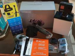 Gopro Hero8 Black Bundle Kit + Suction Cup Novo!