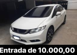 Honda Civic 2.0 lxr flex Aut 4p