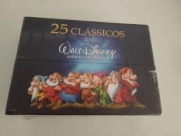 Box Dvd 25 Clássicos Disney - 28 discos