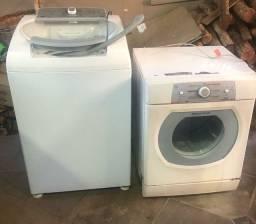 Lavadora e secadora Brastemp ative