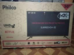 tv smart Philco 4k 50' nova só venda