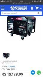 Gerador de energia Toyama gasolina