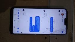 Troco Asus Max shot 64 gb 4 de RAM desbloqueio biométrico e facial tela de 6,26