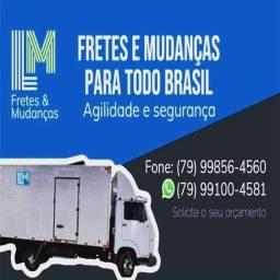 Fretes cargas e mudanças para todo Brasil