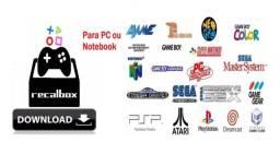 Recalbox Pc 2020Imagem 32gb 11.250 Mil Jogos - 34 Sistemas