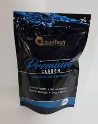 Ocean Tech Premium Carbon 200ml - Carvão Ativado Filtragem Aquario