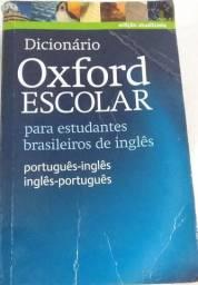 Dicionário de Inglês Oxford Escolar estudante brasileiro de Inglês