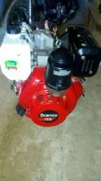 Motor a disel branco 13 c com partida elétrica
