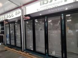 Expositor refrigerado de 3 e 5 portas pronta entrega *douglas