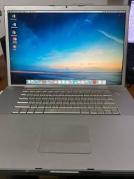 Título do anúncio: Macbook Pro 17 polegadas 2007/2008 (Raro)