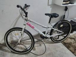 Bicicleta caloi de marcha aro 24 vendo e troco