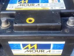 Bateria Moura 60ah usada