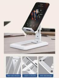 Suporte Multifuncional Dobrável P/ Celular / Tablet / Ipad