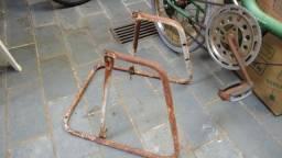 suporte cavalete para bicicleta antiga monareta e berlineta aro 20