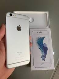 iPhone 6s 32GB Silver / IGUAL NOVO / IMPECAVEL