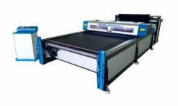 Título do anúncio: Máquina Corte Laser Jvl 3000ES Esteira 1,80x3,00mt Ramo Têxtil Alta produção