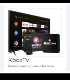 KBOX TV PREMIUM VITALÍCIO 128GB/8GB