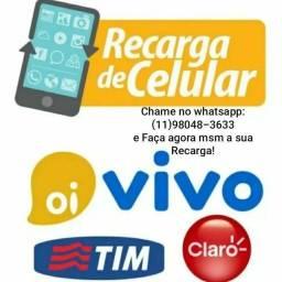 Título do anúncio: Faço sua Recarga Celular - Envie número c/ddd+operadora pelo Whatsapp