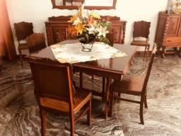 Título do anúncio: Mesa retrô com 08 cadeiras