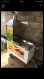 Carrinho de Hot  Dog / Churrasquinho