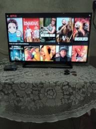 Título do anúncio: TV panasonic 40 polegadas com TV box