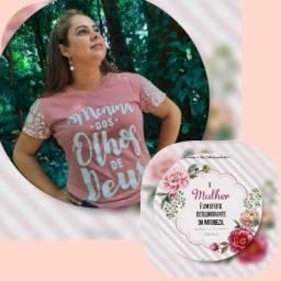 Camisa cristã feminina