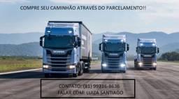 Caminhão Caçamba no Parcelamento!!