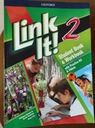 Livro de Inglês link it 2 student oxford - Pouco Usado seminovo