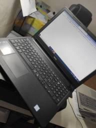 notebook Dell serie 3000, processador i5, setima geração, hd 1 tera, Mem Ram 4 gigas