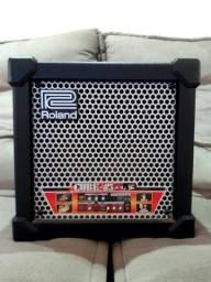 Amplificador Roland Cube 15-XL  pouco usado, mas em ótimo estado