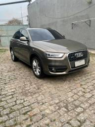 Título do anúncio: Audi Q3 - Tfsi 2.0 Turbo - Marrom - 2015 - Ambiente Plus +
