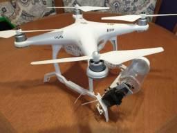Drone Phanton 3 pronto para disperção de trichogrammas