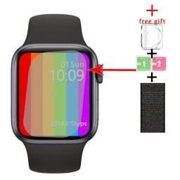 Título do anúncio: Smartwatch Iwo 13 W56 Relógio Inteligente Série 6 44mm IWO + Brindes