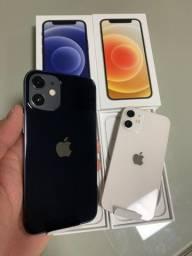 iPhone 12 Mini 64GB NOVOS / LACRADOS