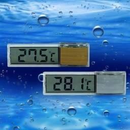 Título do anúncio: Termômetro Transparente Para Aquário 3D