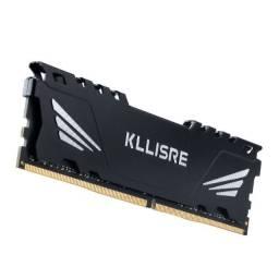 Memória RAM 8gb DDR4 2666mhz Kllisre - Novas, lacradas com garantia
