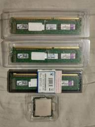 Título do anúncio: Processador i3-2120 + Memoria ram DDR3 2G