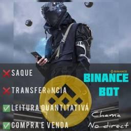 Título do anúncio: BINANCE BOT
