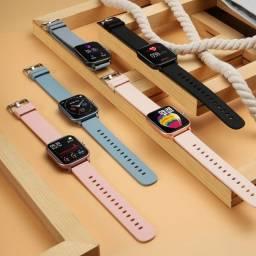 Smartwatch P8 Pro DT35 - Bluetooth, Chamada Telefônica, Ecg, FreqCardíaca, AtivFitness,