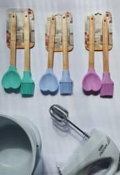 Conjunto utensílios de silicone