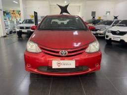 Título do anúncio: Toyota etios sd x 15l Mt 2017 - NOVO