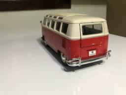 Kombi van Volkswagen coleção da Maisto