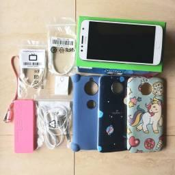 Moto G5 S Plus Azul-cinza